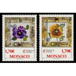 Timbre Monaco n°2575 et 2576