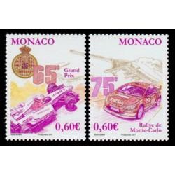 Timbre Monaco n°2577 et 2578