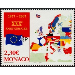 Timbre Monaco n°2581