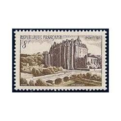 Timbre France N°873 Château...