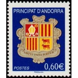 Timbre Andorre Français n°633