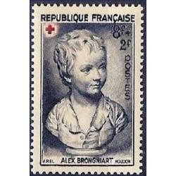 Timbre France N°876 Au...
