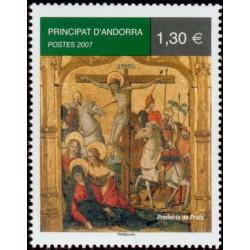 Timbre Andorre Français n°637