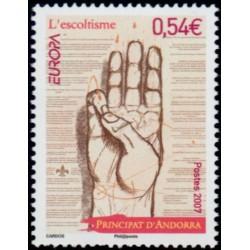 Timbre Andorre Français n°640