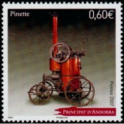 Timbre Andorre Français n°643