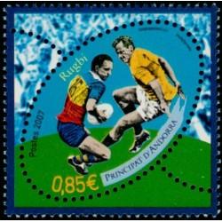 Timbre Andorre Français n°644