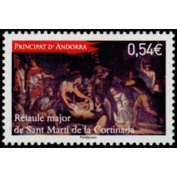 Timbre Andorre Français n°648