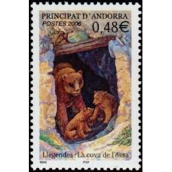 Timbre Andorre Français n°626