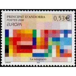 Timbre Andorre Français n°627