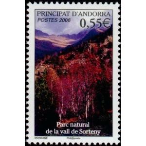 Timbre Andorre Français n°628