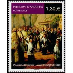 Timbre Andorre Français n°631