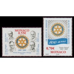 Timbre Monaco n°2479 et 2480
