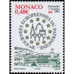 Timbre Monaco n°2504