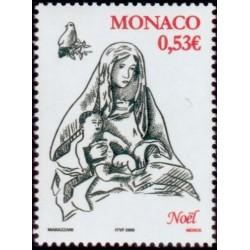 Timbre Monaco n°2505