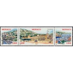 Timbre Monaco n°2518 à 2520