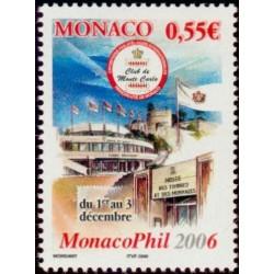 Timbre Monaco n°2521