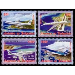 Timbre Polynésie n°748 à 751