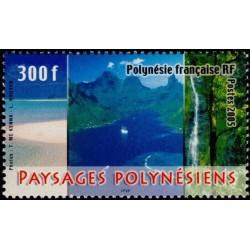 Timbre Polynésie n°754
