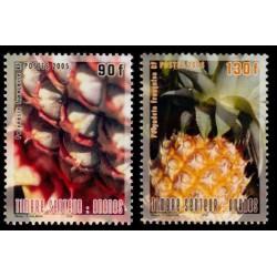 Timbre Polynésie n°755 et 756