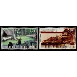 Timbre Polynésie n°757 et 758
