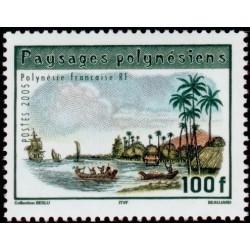 Timbre Polynésie n°759