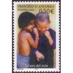 Timbre Andorre Français n°592