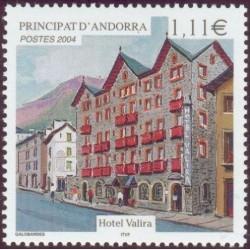 Timbre Andorre Français n°593