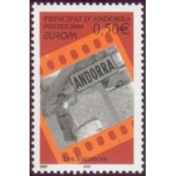 Timbre Andorre Français n°594
