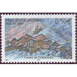 Timbre Andorre Français n°597