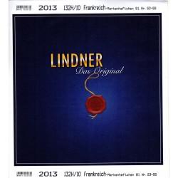 Jeu France Lindner Carnet...