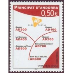 Timbre Andorre Français n°601