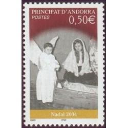Timbre Andorre Français n°603