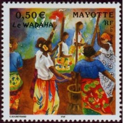 Timbre Mayotte n°149