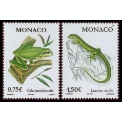 Timbre Monaco n°2429 et 2430