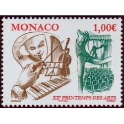 Timbre Monaco n°2431
