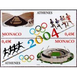 Timbre Monaco n°2439 et 2440