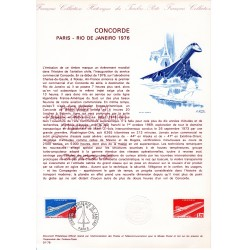 Document Officiel Concorde