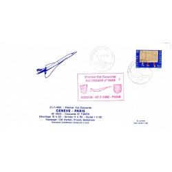Enveloppe Concorde Genève -...