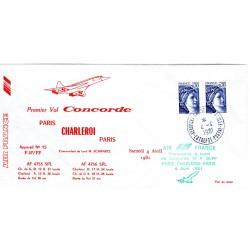 Enveloppe Concorde Paris -...