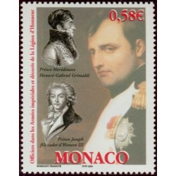 Timbre Monaco n°2445