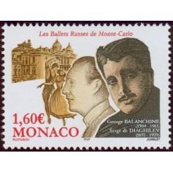 Timbre Monaco n°2446