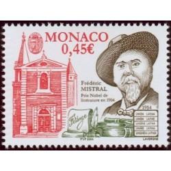 Timbre Monaco n°2448