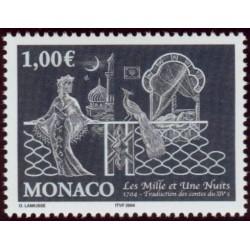 Timbre Monaco n°2452