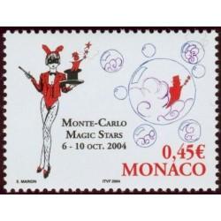 Timbre Monaco n°2455