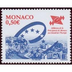 Timbre Monaco n°2460