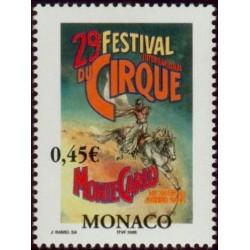 Timbre Monaco n°2461