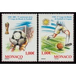 Timbre Monaco n°2465 et 2466