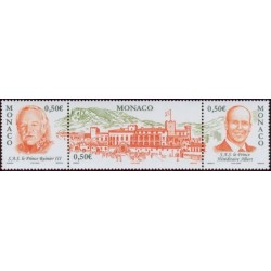 Timbre Monaco n°2467 à 2469