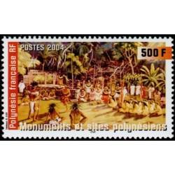 Timbre Polynésie n°709