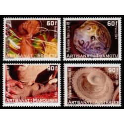 Timbre Polynésie n°713 à 716